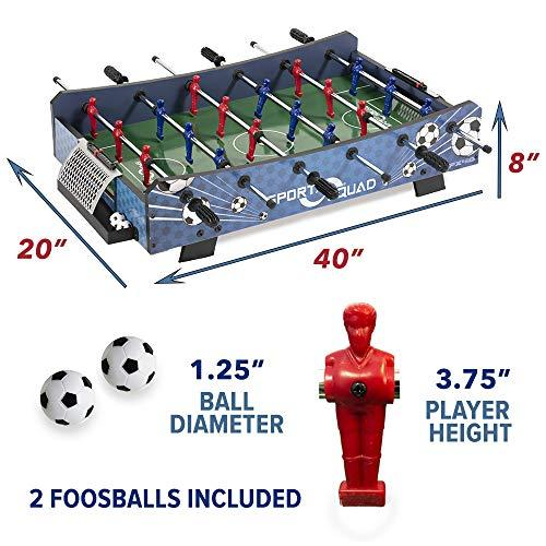 Foosball Table Dimensions Explained Indoor Champion