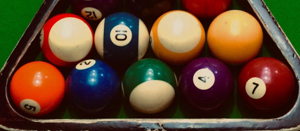 "Brand New Empire USA Billiard Ball Set Standard Size 2-1//4/"" Free Shipping"